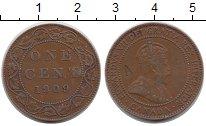 Изображение Монеты Северная Америка Канада 1 цент 1909 Бронза XF