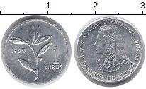 Изображение Монеты Азия Турция 1 куруш 1979 Алюминий UNC-