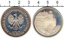 Изображение Монеты Польша 100 злотых 1977 Серебро Proof- Королевский замок на