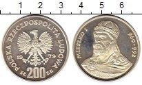Изображение Монеты Польша 200 злотых 1979 Серебро Proof-
