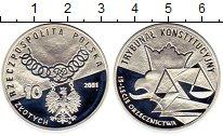 Изображение Монеты Европа Польша 10 злотых 2001 Серебро Proof
