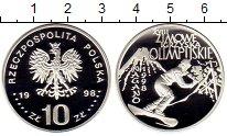 Изображение Монеты Польша 10 злотых 1998 Серебро Proof Олимпийские игры в Н