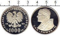 Изображение Монеты Польша 1000 злотых 1983 Серебро Proof-