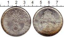 Изображение Монеты Африка Египет 5 фунтов 1989 Серебро UNC-