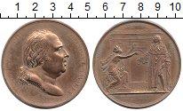 Изображение Монеты Европа Франция Медаль 1814 Бронза XF