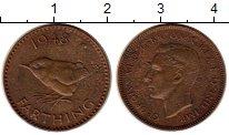 Изображение Монеты Европа Великобритания 1 фартинг 1948 Бронза XF