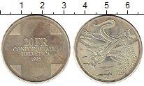 Изображение Монеты Швейцария 20 франков 1995 Серебро Proof-