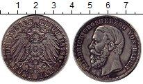 Изображение Монеты Германия Баден 5 марок 1898 Серебро VF+