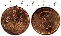 Изображение Монеты Канада 1 доллар 2005 Латунь UNC-