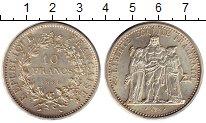 Изображение Монеты Европа Франция 10 франков 1965 Серебро XF