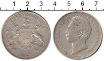 Изображение Монеты Германия Вюртемберг 2 гульдена 1847 Серебро XF