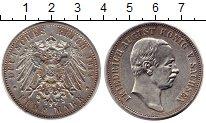 Изображение Монеты Германия Саксония 5 марок 1914 Серебро XF