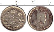 Изображение Монеты Канада 5 центов 1906 Серебро VF