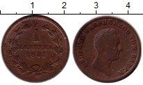 Изображение Монеты Баден 1 крейцер 1841 Медь XF-