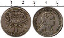 Изображение Монеты Европа Португалия 1 эскудо 1931 Медно-никель XF