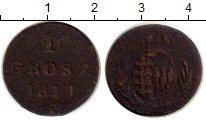 Изображение Монеты Польша 1 грош 1811 Медь VF
