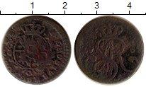 Изображение Монеты Польша 1 грош 1765 Медь VF Станислав Август