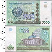 Изображение Банкноты СНГ Узбекистан 5000 сом 2013  UNC