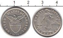 Изображение Монеты Азия Филиппины 20 сентаво 1929 Серебро XF