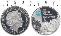 Изображение Монеты Европа Великобритания 5 фунтов 2010 Серебро Proof-
