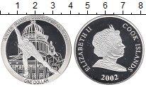 Изображение Монеты Острова Кука 1 доллар 2002 Серебро Proof