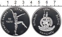 Изображение Монеты Австралия и Океания Вануату 50 вату 1994 Серебро Proof