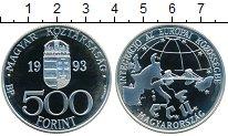 Изображение Монеты Европа Венгрия 500 форинтов 1993 Серебро Proof-