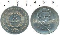 Изображение Монеты ГДР 20 марок 1973 Серебро UNC-