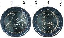 Изображение Мелочь Эстония 2 евро 2018 Биметалл UNC