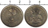 Изображение Монеты Уганда 500 шиллингов 2008 Латунь UNC-