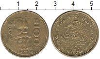 Изображение Монеты Северная Америка Мексика 100 песо 1990 Латунь XF