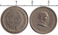 Изображение Монеты Уругвай 2 сентесимо 1953 Медно-никель XF