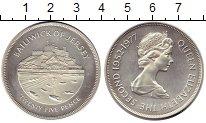 Изображение Монеты Великобритания Остров Джерси 25 пенсов 1977 Серебро UNC-