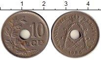 Изображение Монеты Бельгия 10 сантим 1926 Медно-никель XF-