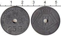 Изображение Монеты Бельгия 25 сантим 1946 Цинк XF-