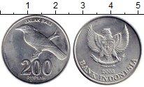 Изображение Монеты Индонезия 200 рупий 2003 Алюминий UNC-