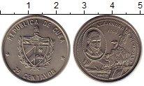 Изображение Монеты Северная Америка Куба 25 сентаво 1989 Медно-никель UNC-