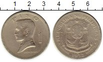 Изображение Монеты Филиппины 1 песо 1972 Медно-никель VF