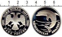 Изображение Монеты СНГ Россия 1 рубль 1995 Серебро Proof-