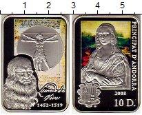 Изображение Монеты Европа Андорра 10 динерс 2008 Серебро Proof