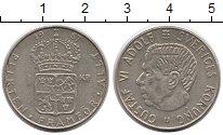 Изображение Монеты Европа Швеция 1 крона 1967 Серебро XF