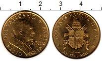 Изображение Монеты Ватикан 200 лир 2001 Латунь UNC-