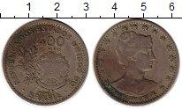 Изображение Монеты Бразилия 400 рейс 1901 Медно-никель XF-