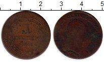 Изображение Монеты Австрия 1 крейцер 1812 Медь VF