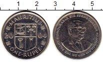 Изображение Монеты Маврикий 1 рупия 2004 Медно-никель UNC-