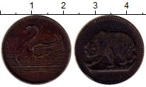 Изображение Монеты Европа жетон 0 Латунь XF