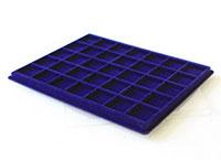 Изображение Аксессуары для монет Другие Пластиковый планшет на 35 ячеек (38х38х7мм) С 0