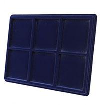 Изображение Аксессуары для монет Другие Пластиковый планшет на 6 ячеек (85х100х16мм) С 0