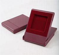Изображение Аксессуары для монет Футляры для монет Пластик Футляр пластиковый для монеты в капсуле Quadrum (50х50х6 мм) 0