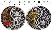 Изображение Монеты Фиджи 1 доллар 2013 Серебро Proof Две монеты номиналом